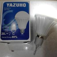 LAMPU BOHLAM LED EMERGENCY YAZUHO / LAMPU LED BOHLAM SENTUH 20W