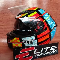 Helm AGV K3 SV Rossi Element 46