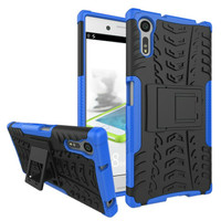 Sony Xperia XZ - XZ Premium RUGGED ARMOR soft har case casing HP Back