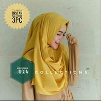 Hijab Jilbab Pasmina Instan Vanilla