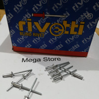 Rivetti 435 rivet aluminium etalase (box isi 1000)