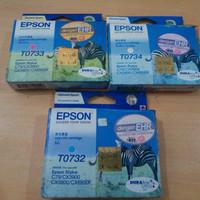 Epson T0732, T0733, T0734 Cartridge Original