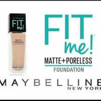 MAYBELLINE FIT ME MATTE + PORELESS FOUNDATION