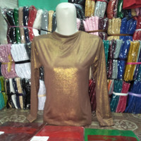 Manset Atasan Gliter Metalik||Dalaman Baju Kebaya Mewah