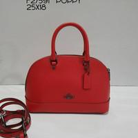 Tas coach original - Coach mini sierra poppy
