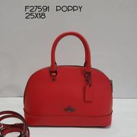 Tas Coach Original / Coach Mini Sierra Poppy Red