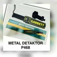 alat keamanan satpam dll garrett metal detaktor p468
