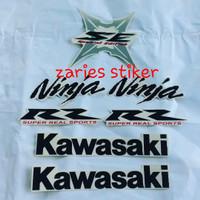 Stiker list body motor Ninja RR SE 2013 WHITE