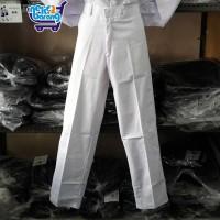 Celana Panjang Putih - Seragam Sekolah SMP/SMA - Celana SMP SMA Putih