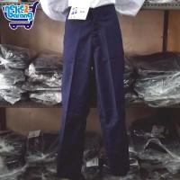Celana Panjang Biru SMP - Seragam Sekolah SMP - Celana SMP Biru