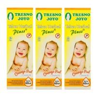 Tresno Joyo Minyak Telon Herbal Plus Orange 60ml - 3 Pcs