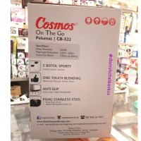 New! Cosmos On The Go Personal Blender Juicer Shake And Take Pelumat