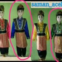 costume Pakaian daerah baju tari adat aceh saman kostume dewasa