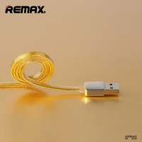 Remax Gold Micro USB Braided Cable for Smartphone