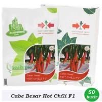 Benih-Bibit Cabe Merah Besar Hot Chili F1 - Cap Panah Merah