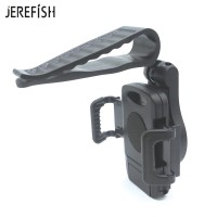Harga jerefish 360 rotate universal car sun visor phone mount clip holder | antitipu.com
