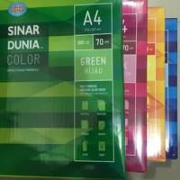 Harga kertas hvs warna a4 sinar   Pembandingharga.com
