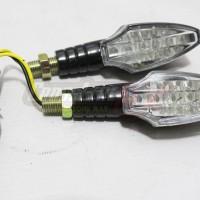 Lampu Sein Motor Variasi 2 Sisi Sen Wilwood LED 012