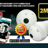 Promo CCTV Lampu/Bohlam WiFi/Wireless Online ke HP Garansi 6 Bulan