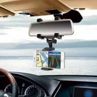 Harga jerefish universal car rearview mirror mount holder phone stand | antitipu.com