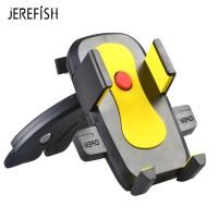 Harga jerefish universal car air vent mobile phone holder cd slot mount | antitipu.com