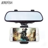 Harga jerefish universal 360 degrees car rearview mirror mount phone holder | antitipu.com