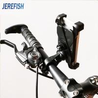 Harga jerefish anti slip universal 360 rotating bicycle bike phone holder | antitipu.com