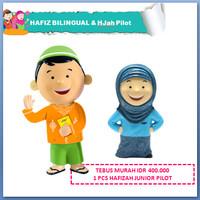 Jual Hafiz Talking Doll + Hafiz/Hafizah Junior Pilot Murah