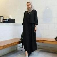 Baju muslim valentin wanita ukuran S-L bahan full balot Limited