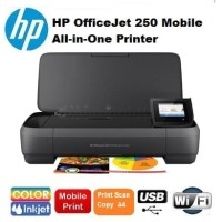 Printer HP OfficeJet 250 Mobile All-in-One wifi (portable HP wireless)
