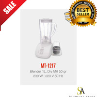 MASPION Blender MT-1217 With Dry Miller 1 Ltr Termurah Surabaya