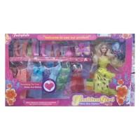 Mainan Anak Boneka Barbie Lengkap Fashion Girls