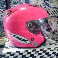 EXCLUSIVE Helm basic INK Centro Magenta best Seller PALING MURAH