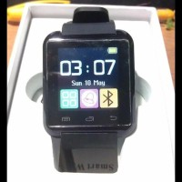 Best Seller . . . Smartwatch U Watch U8 - Black Smart Watch - Hitam 4