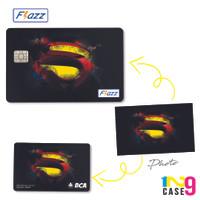 Harga custom kartu flazz bca 2 sisi bisa cetak foto gambar | antitipu.com
