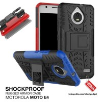 Hardcase Armor Shockproof Hybrid Cover Case Casing HP Motorola Moto E4