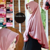 BERGO POCKET MINI (UK. XL)/JILBAB INSTAN/JILBAB SYARI/HIJAB SYARI