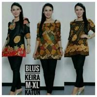 best seller Blus baju wanita atasan kemeja Batik Modern
