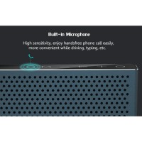 REMAX RB-M20 SUBWOOFER BLUETOOTH SPEAKER DUAL DRIVER MICRO SD SLOT
