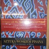 Buku Dasar Art drawn with wax; batik in Indonesia and poland