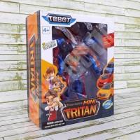 Tobot Tobot Tritan 3 Cars X Y Z Combine Mainan Anak Transformer Robot
