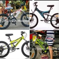 Sepeda Anak Mtb Roda 20 inch United 3080 6speed Rem Dis PROMO