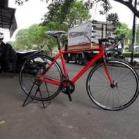 Sepeda Balap United Inertia 300 fork Aero Carbon Frame PROMO