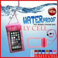 Plastik Pelindung HP Anti Air Transparan Waterproof Bag Android BB