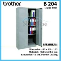 LEMARI KANTOR ARSIP FILE BESI BROTHER B 204