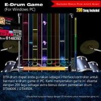 Yamaha DTX450 / DTX450K / DTX 450 / DTX 450K Drum Elektrik (FR Murah