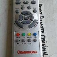 REMOTE REMOT TV CHANGHONG LED LCD ORIGINAL ASLI T1381ID Diskon