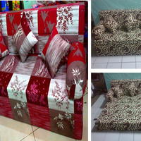 Sofa Bed Busa Inoac asli murah ukuran 200 x 160 x 20 No. 2 anti kempes