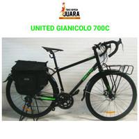 SEPEDA UNITED GIANICOLO TOURING 700C ALLOY 14SPD