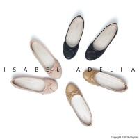 Isabel Sepatu Balet Wanita TAMARA Flat Shoes Hitam Coklat Peach